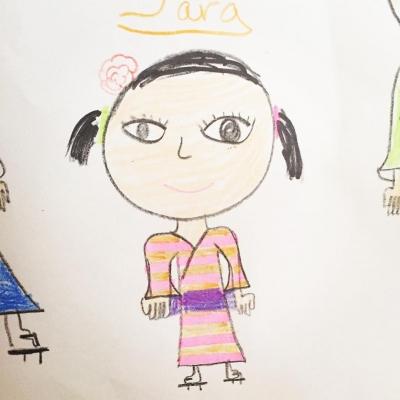 3才女子、プリンセスになりたいの。